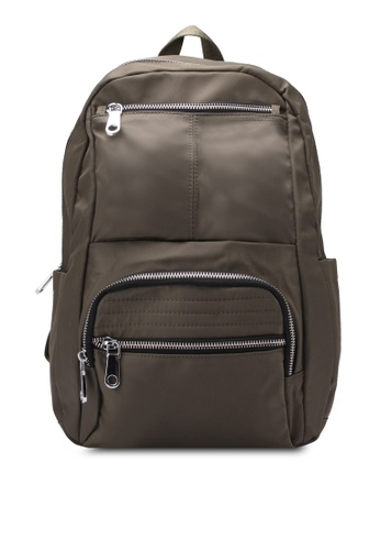 Buy NUVEAU Lightweight Nylon Backpack Online on ZALORA Singapore c420274f5413a