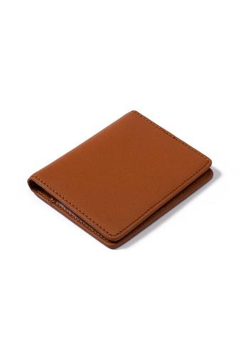 PLAIN SUPPLIES brown Kyl II RFIDsafe Mini Bifold - Cognac 8F072AC47FF2DBGS_1