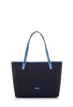 BONIA  Blue Paula Jacquard Tote