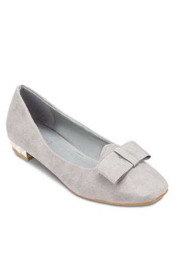 蝴蝶結方頭娃娃鞋, 女鞋,esprit retail 鞋