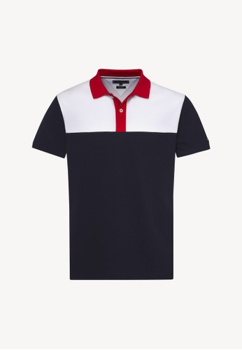 d808cbbc Buy Tommy Hilfiger Wcc Colorblock Regular Polo Online on ZALORA ...