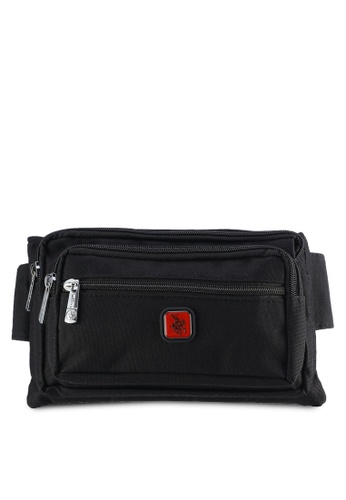 Swiss Polo black Swiss Polo Waist Bag SW912AC19PIMMY_1