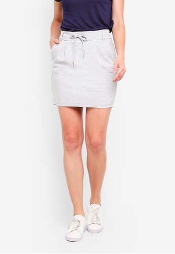 ONLY grey Poptrash Easy Shorts 651D1AA36DEC99GS_1