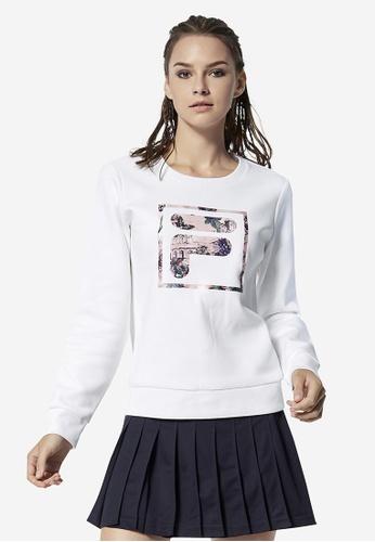 412c803ca09 Buy Fila F-Box Sweatshirt Online on ZALORA Singapore