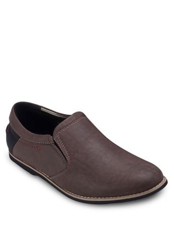 拼接休閒皮鞋, esprit tw鞋, 鞋