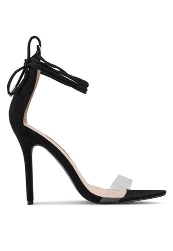 Public Desire black Stefani Heels 234C8SH9F75B72GS_1