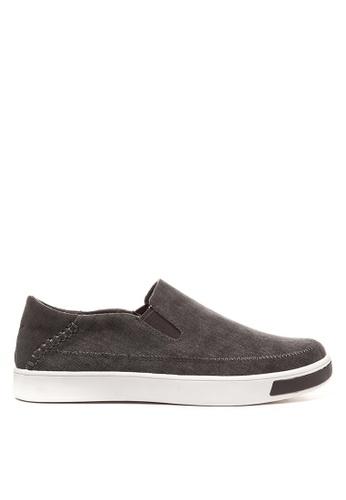 Jump grey Dapper Slip On Sneakers JU701SH25DHMPH_1