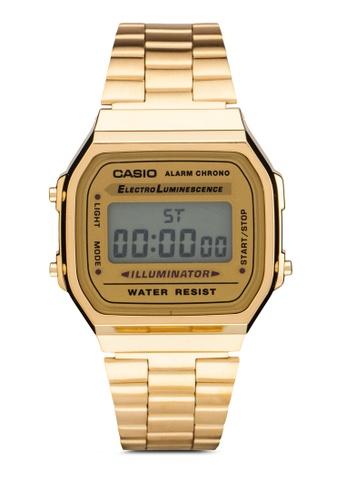 Casio gold Casio General Men's Digital Watch A168WG-9WDF CA843AC74XZPMY_1