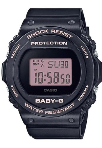 CASIO black Casio Baby-G BGD-570-1BDR Black Resin Watch 35169ACA6DD5C1GS_1