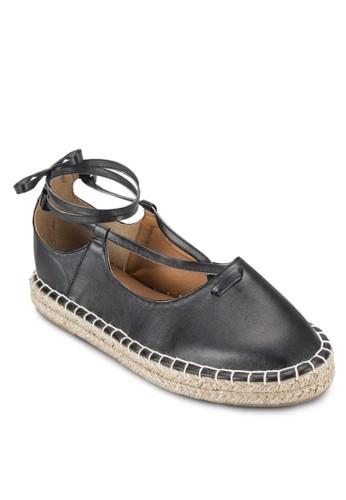 Sandy 纏繞式踝帶麻編鞋, 女鞋,esprit outlet hong kong 鞋