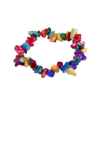 Glamorousky multi Fashion Creative Natural Colorful Stone Bracelet 410E3AC9F58FCDGS_1