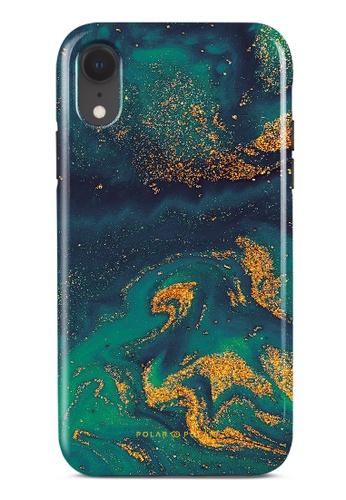 Polar Polar green Green Night Quicksand Dual-Layer Tough Case Glossy For iPhone XR DDC15AC535C9ECGS_1