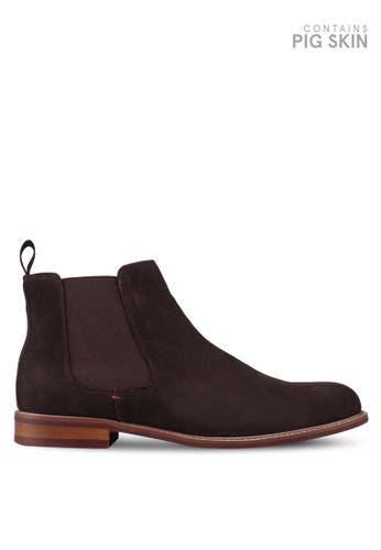 Dune London brown Mccoist Chelsea Boot Shoes 69579SH480757FGS_1