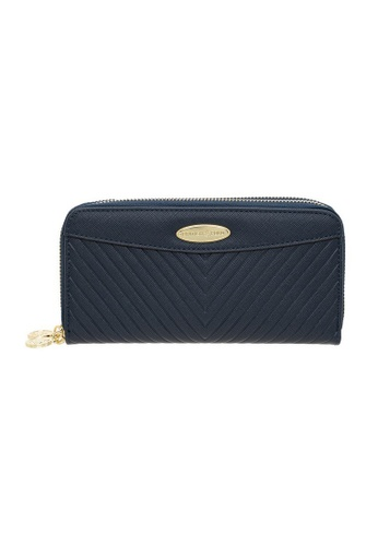 British Polo blue British Polo Dwyne Double Zipper Wallet BEE9BAC4199808GS_1