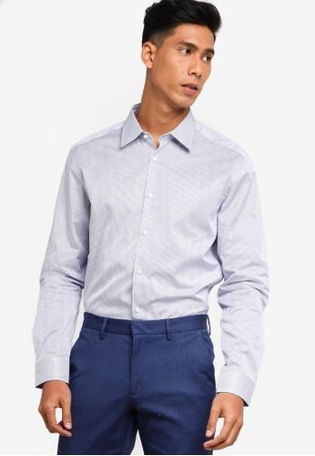 BOSS navy T-Carl Shirt - BOSS Men A226BAA79C9902GS_1