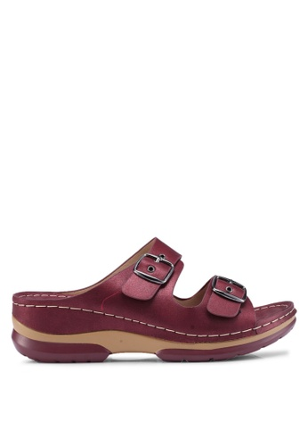 Louis Cuppers 紅色 Casual Sandals 991EBSH2710014GS_1