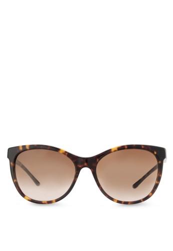 玳瑁方形太陽esprit旗艦店眼鏡, 飾品配件, 飾品配件