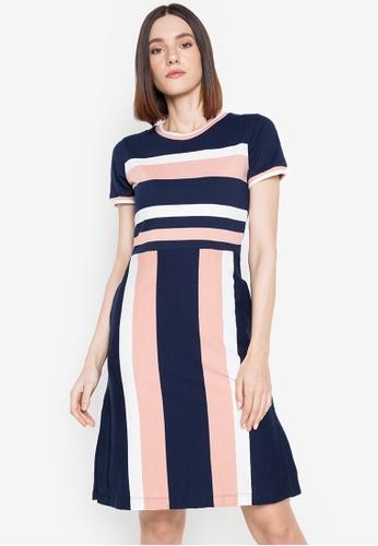 Blued blue Horrie Dress 7067DAA12AA881GS_1