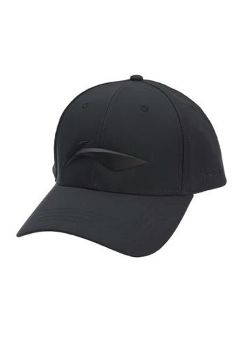 Li-Ning black Li-Ning Sports Cap E3735ACA168B1DGS_1