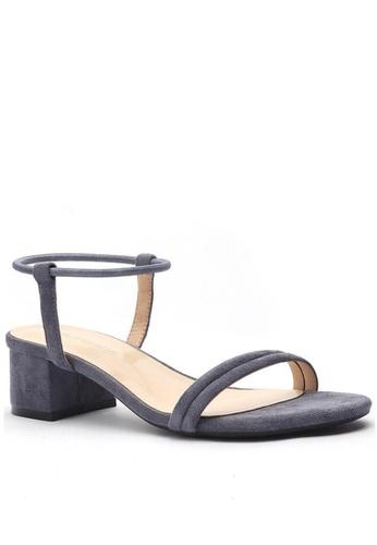 Twenty Eight Shoes 藍色 愛麗絲繞帶涼鞋320-22 F70A5SH811C009GS_1