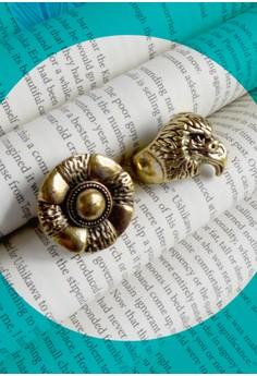 Eagle Eye Ring Set