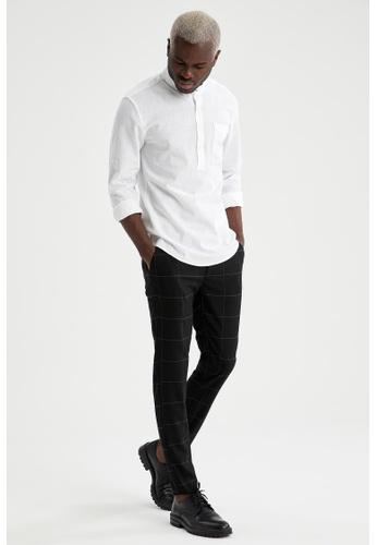 DeFacto black Man Woven Trouser B5892AA5B1D9CDGS_1