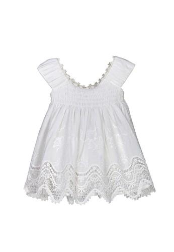 Luna Luna white Vivi Baby Dress 142D5KA1BA7E7FGS_1