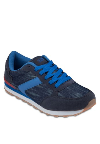 Axel 異材質拼接休閒鞋, 鞋, 運動esprit 香港鞋