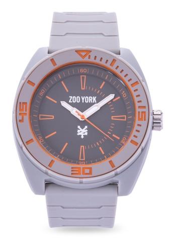 Zoo York grey Analog Watch ZO541AC0IT0XPH_1