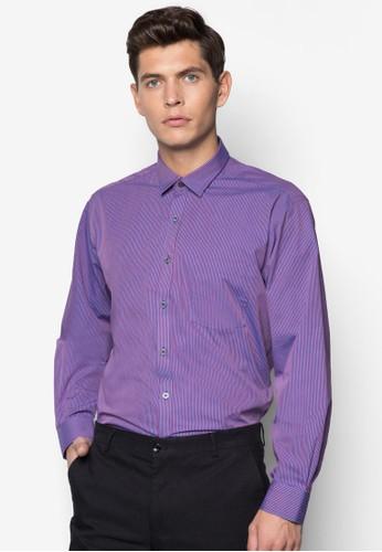 基本寬素色長袖襯衫esprit香港分店, 服飾, 服飾