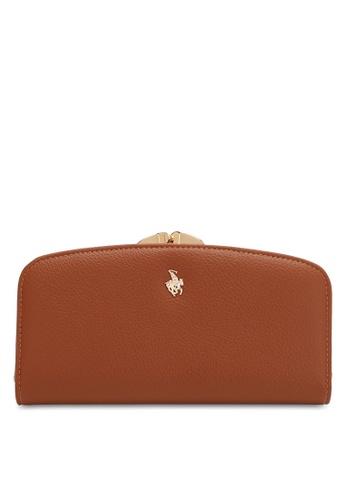 Swiss Polo brown LADIES LONG PURSE 13470ACF5433A1GS_1