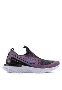 various colors 9fba4 7fa16 Nike black Women s Nike Epic Phantom React Flyknit 2C9EDSH47A204EGS 1