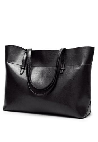 Halo black Vintage Three Way Crossbody Bag DAE9CACEA2F513GS_1