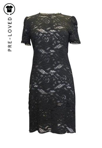Dolce & Gabbana multi dolce & gabbana Black Floral Lace Dress 55879AA8328E6DGS_1