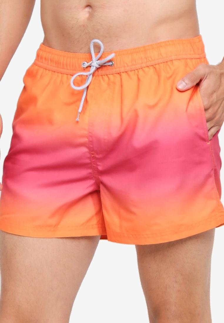 Swim Dye Menswear Pull Shorts On Blue Dip Burton Pink London qvTwOaIRxn