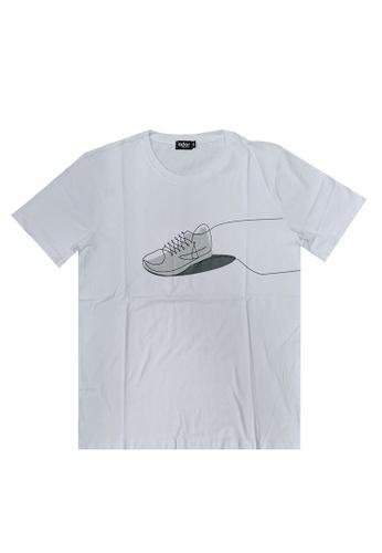 Ador white Ador sportstyle t-shirt A6502AA0CE869FGS_1