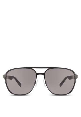 Boss Orange black Metal with Back Rim Soldered Temple Sunglasses BO434GL88HRVMY_1