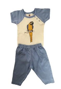 Hudson Baby Bodysuits and Pant Set
