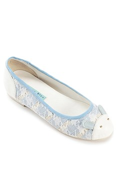 Bunny Lace Flats