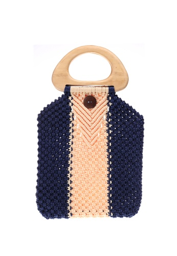 Style Cat red and blue and navy Style Cat Tokyo Macrame Navy 97219AC6D265B8GS_1
