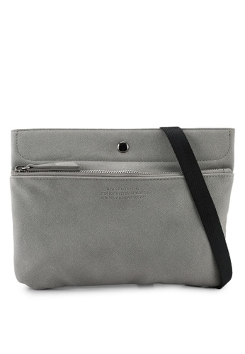GLOBAL WORK grey MEN BAG 82E81AC11A18BDGS_1