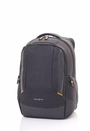 Samsonite black Samsonite Locus LP Backpack N1 (Black) SA581AC0SHOHMY_1
