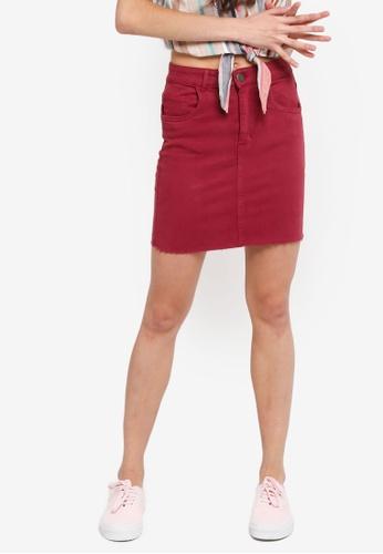 6717c8fa4dd Buy Cotton On Classic Stretch Denim Mini Skirt Online on ZALORA ...