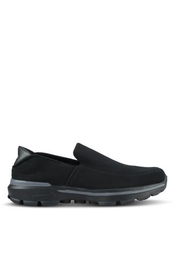 UniqTee black Lightweight Slip-On Sport Shoes UN097SH0RS4GMY_1