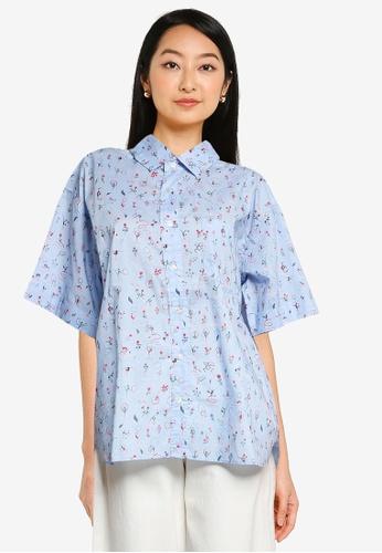 niko and ... blue Printed Shirt A014DAA47970A5GS_1