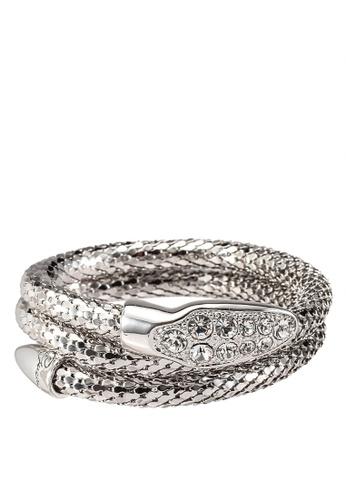Guess silver Glamazon Bracelet GU020AC0S7MAMY_1