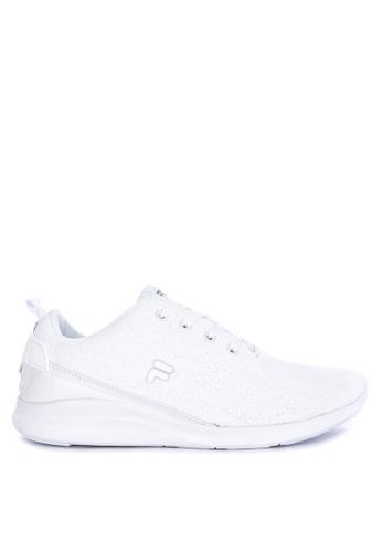 Fila white Tracker Running Shoes 9186ASH6A44CA5GS_1