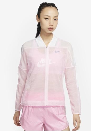 Nike pink Women's Icon Clash Jacket DEB3CAA3FD3FDAGS_1