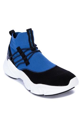 Krooberg black Shox2 Sneakers 4C5B6SH5010C26GS_1