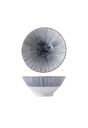 Table Matters multi Blue Illusion - 9 inch Ramen Bowl 2AACEHL0E6A0CBGS_1